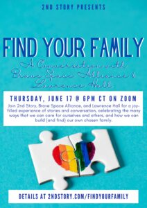 Find Your Family event poster